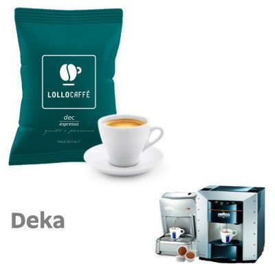 100 Lollo decaffeinated compatible capsules ESPRESSO POINT [€ 0.15 / capsule]