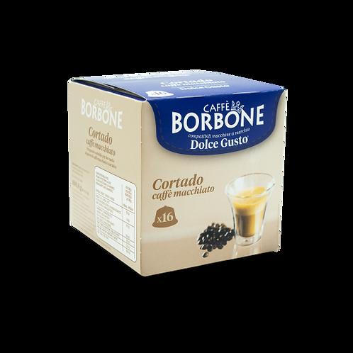 64 Borbone Macchiato Coffee Compatible Shortdo Capsules DOLCE GUSTO [0,25 € / caps]