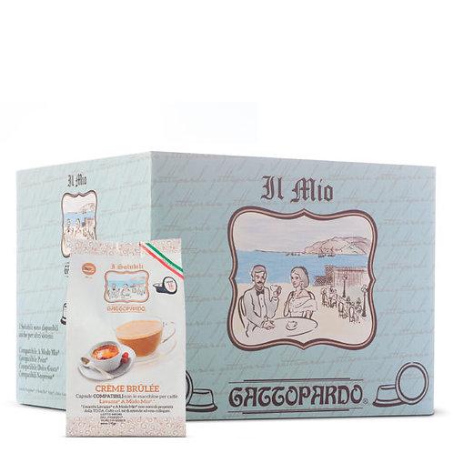 16 capsule crème brulè Gattopardo compatibile a modo mio[0.18€/casp]