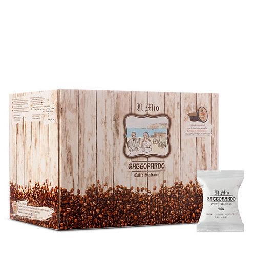 100 Gattopardo blue coffee capsules compatible IN MY WAY [0,15 € / capsule]
