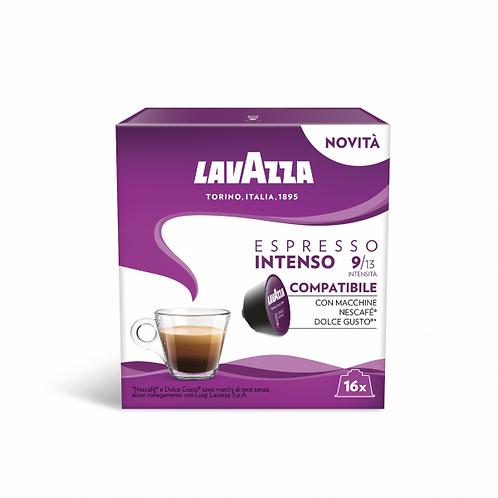 96 capsules de café Lavazza Espresso Intenso blend compatible Dolce gus
