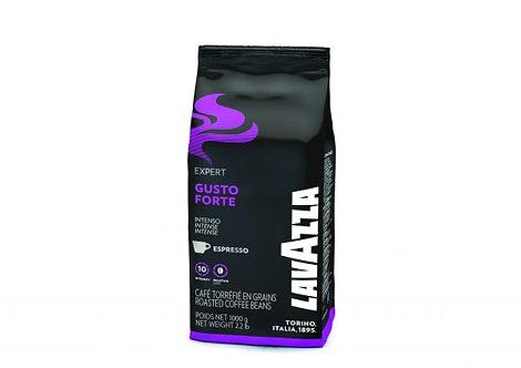 1 KG Grains de café intenses au goût fort Lavazza