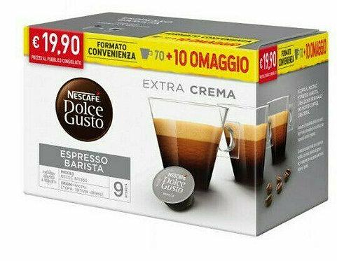 80 Nescafè barista compatible capsules DOLCE GUSTO [0,24 € / capsule]