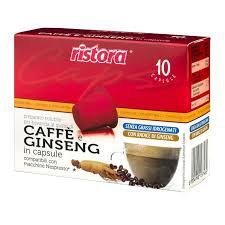 10 Nespresso compatible ginseng Ristora capsules [€ 0.16 / capsule]