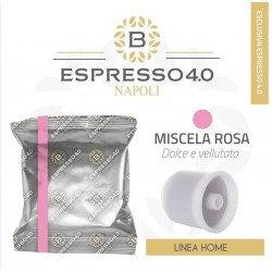 80 capsules of Caffè Barbaro pink blend blend compatible iperespresso [0,28 € / caps]