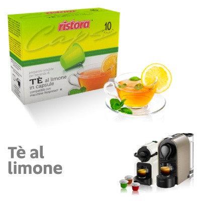 60 Ristora compatible NESPRESSO lemon tea capsules [€ 0.15 / capsule]
