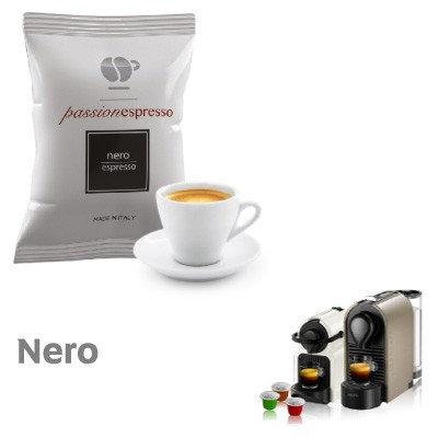 100 Kapseln schwarzer Espresso Lollo-kompatibler NESPRESSO [0,13 € / Kapsel]