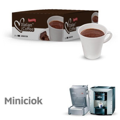 25 Miniciok-kompatible Espresso-Kapseln