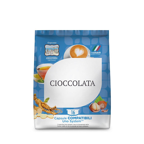 48 Leopard compatible UNO SYSTEM chocolate capsules [0,21 € / capsule]