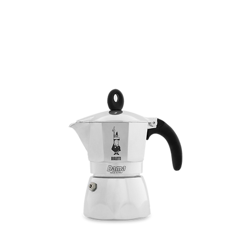Bialetti Dama line 3 cups aluminum coffee maker