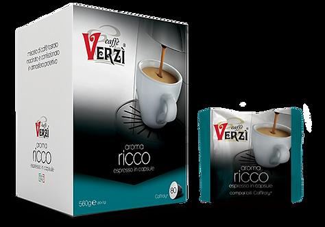 Caffè Verzì 80 capsule RICCO compatibili Caffitaly