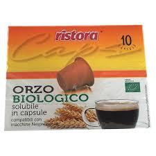 10 capsule orzo Ristora compatibili NESPRESSO [0,16€/capsula]