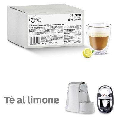 50 mit italienischem Kaffee kompatible Zitronenkapseln FIRMA [0,18 € / Kapsel]
