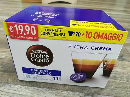 80 capsule Nescafè ardenza compatibili DOLCE GUSTO [0,24€/capsula]