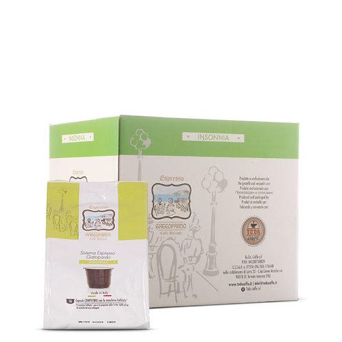 96 coffee capsules INSONNIA Gattopardo compatible caffitaly