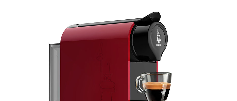Gioia RED Espresso Machine with Bialetti Capsules with tasting kit (OFFER)