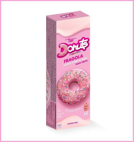 Astuccio 3 donuts fragola