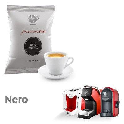 100 Lollo black coffee compatible capsules LAVAZZA MY WAY [0,13 € / capsule]
