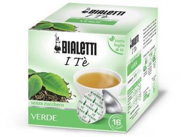 12 capsules Bialetti The Verde [€ 0.33 / capsule]