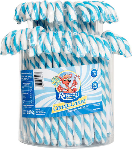 CANDY CANES WHITE / BLUE CHERRY TASTE