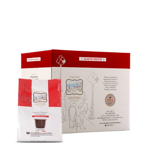 96 Gattopardo coffee capsules rich taste compatible CAFFITALY [0,18 € / capsule]