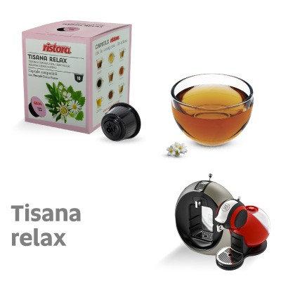 10 Capsules compatible Nescafè Dolce Gusto Ristora Relax herbal tea