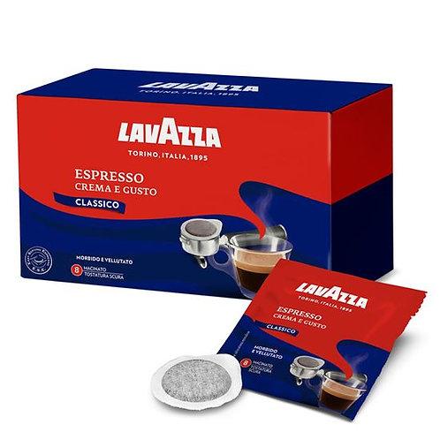 18 pods ese 44 mm Lavazza cream and taste
