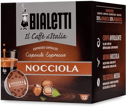 "12 capsule caffè Bialetti ""Gourmet"" gusto Nocciola [0,33€/capsula]"