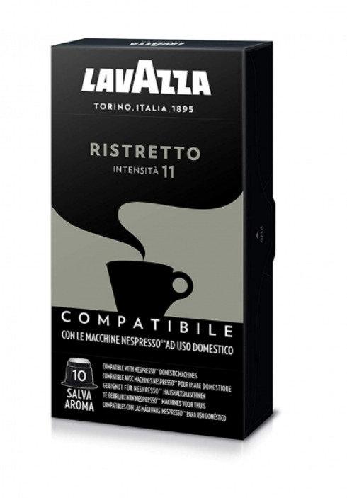 50 Nespresso compatible Lavazza Ristretto coffee capsules [€ 0.16 / capsule]
