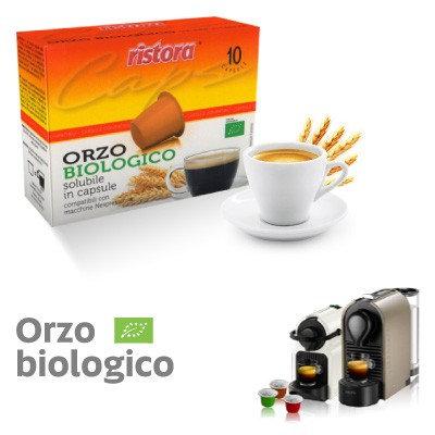 60 Ristora compatible organic soluble barley capsules NESPRESSO [€ 0.15 / capsule]