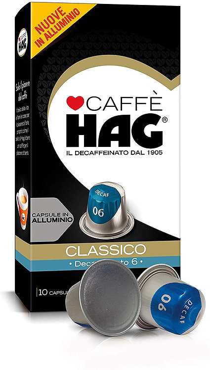 100 Kapseln deca classic HAG kompatibles NESPRESSO [0,20 € / Kapsel]