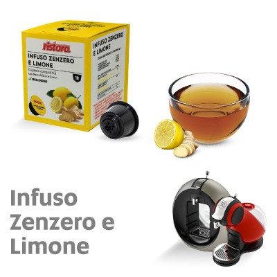 10 caps. Ristora Ginger and Lemon compatible NESCAFé DOLCE GUSTO [0,28 € / capsule]