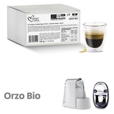 50 capsules Italian Coffee Soluble Barley Bio compatible Signature
