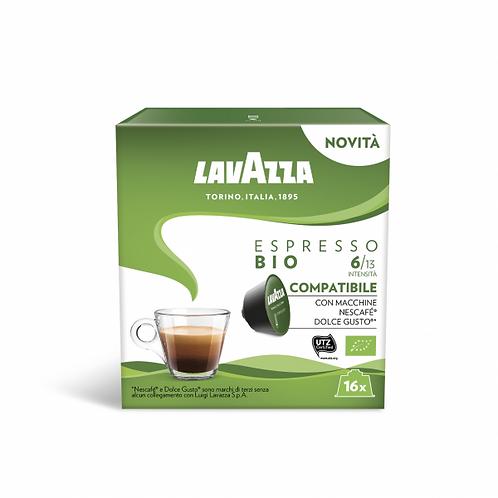 96 capsule caffè Lavazza espresso Bio compatibili DOLCE GUSTO [0,24€/capsula]
