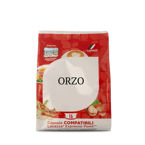 16 capsules Orzo Gattopardo compatible espresso point [0.15 € / caps]