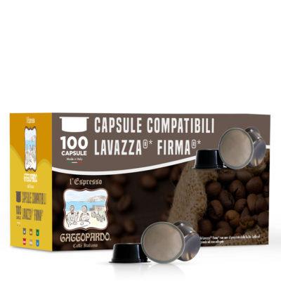 100 capsules Gattopardo Insomia compatible Signature