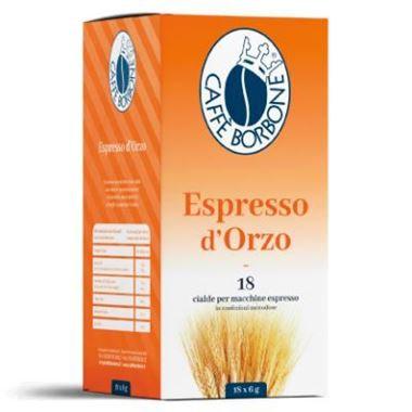 18 Ese pods 44 mm coffee Bourbon espresso barley [€ 0.11 / pod]