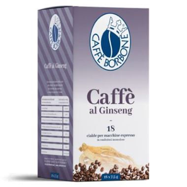 18 Ese pods 44 mm ginseng coffee Bourbon paper filter [0,25 € / pod]