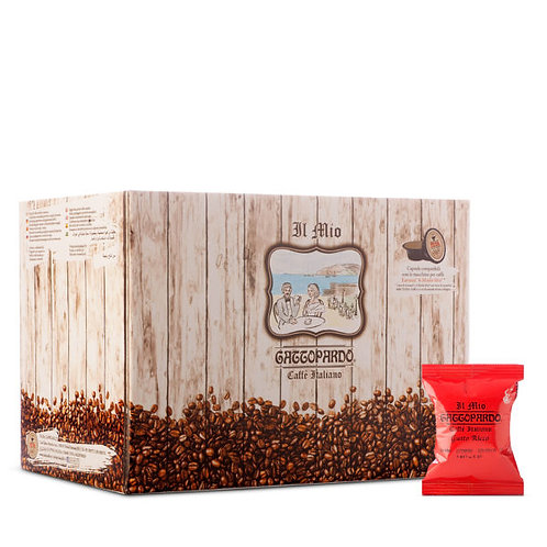 100 coffee capsules my rich Leopard compatible IN MY WAY [0,14 € / capsule]