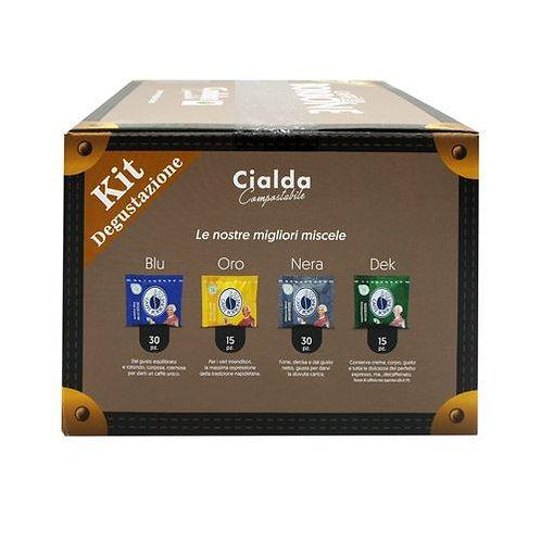 90 Ese pods 44 mm Borbone coffee tasting kit [€ 0.13 / pod]