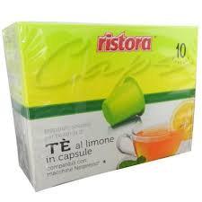 10 NESPRESSO compatible lemon tea capsules [€ 0.16 / capsule]