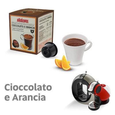 10 Kapseln Ristora Schokolade und Orange kompatibel DOLCE GUSTO [0,28 € / Kapsel]