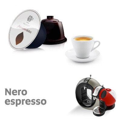 96 Lollo nero capsules (6 packs of 16) DOLCE GUSTO compatible [€ 0.14 / capsule]
