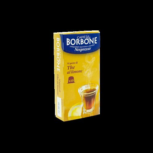 60 NESPRESSO compatible Borbone lemon capsules [€ 0.18 / capsule]