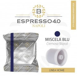 80 capsules Barbaro coffee blend mix blue compatible hyperespresso