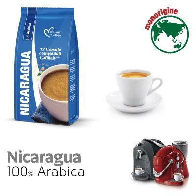 96 Italian coffee Nicaragua compatible capsules CAFFITALY [€ 0.18 / capsule]