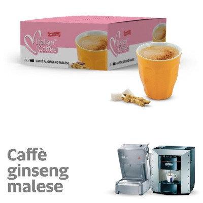 25 capsule ginseng malese compatibili espresso point