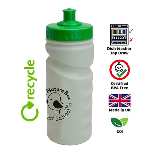 Recycled Finger Grip Sports Bottle