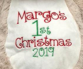 9. First Christmas