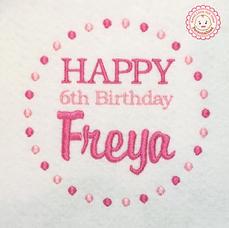 4. Happy Birthday Pink